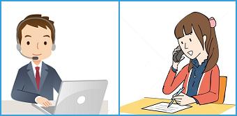 電話での対話形式による添削指導